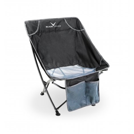 Black Crevice Camping Sessel