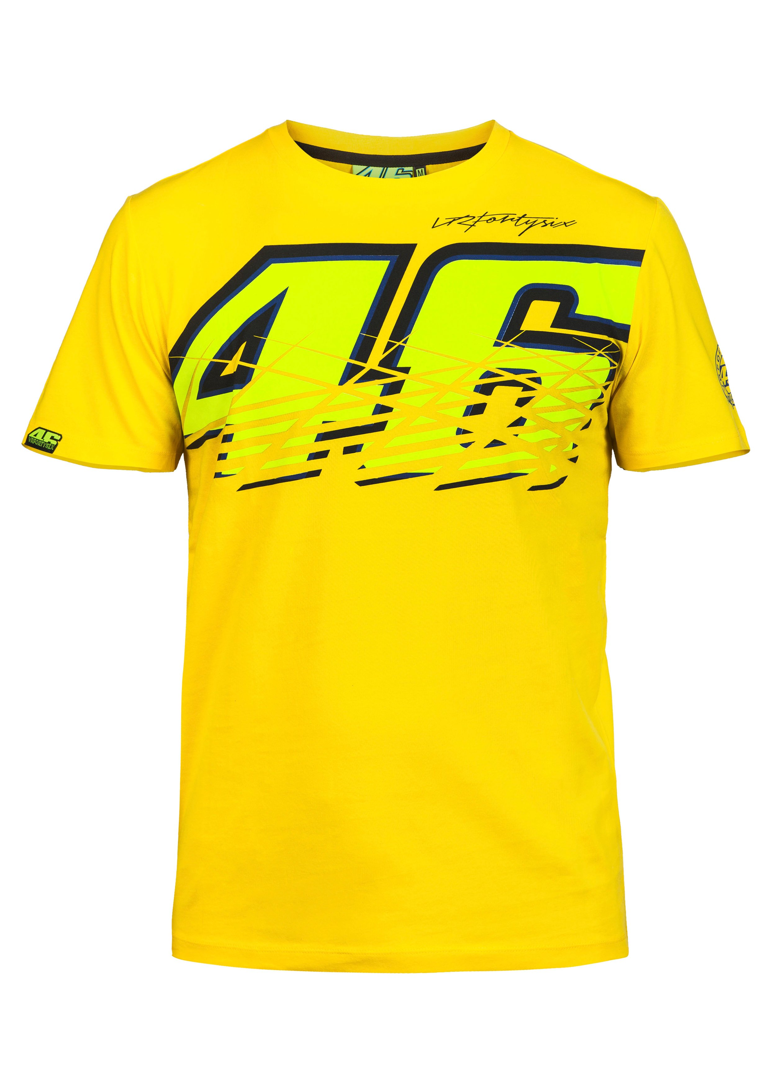 valentino rossi tee 46 yellow fanartikel merchandise. Black Bedroom Furniture Sets. Home Design Ideas