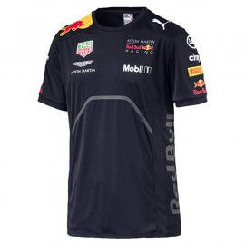 PUMA - Aston Martin - Red Bull Racing - Herren Team T-Shirt - 170781063-502