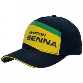 Ayrton Senna - Baseball Cap - Racing II - AS-18-023