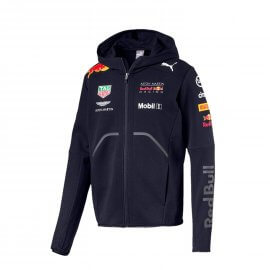PUMA - Aston Martin - Red Bull Racing - Herren Team Kapuzen Sweater Jacke 2018 - 170781066
