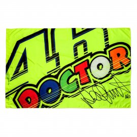 VR|46 Valentino Rossi - 46 THE DOCTOR - Fan Flagge - VR265903
