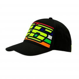 VR|46 Valentino Rossi - 46 Stripes - Baseball Cap - Black - VR350204