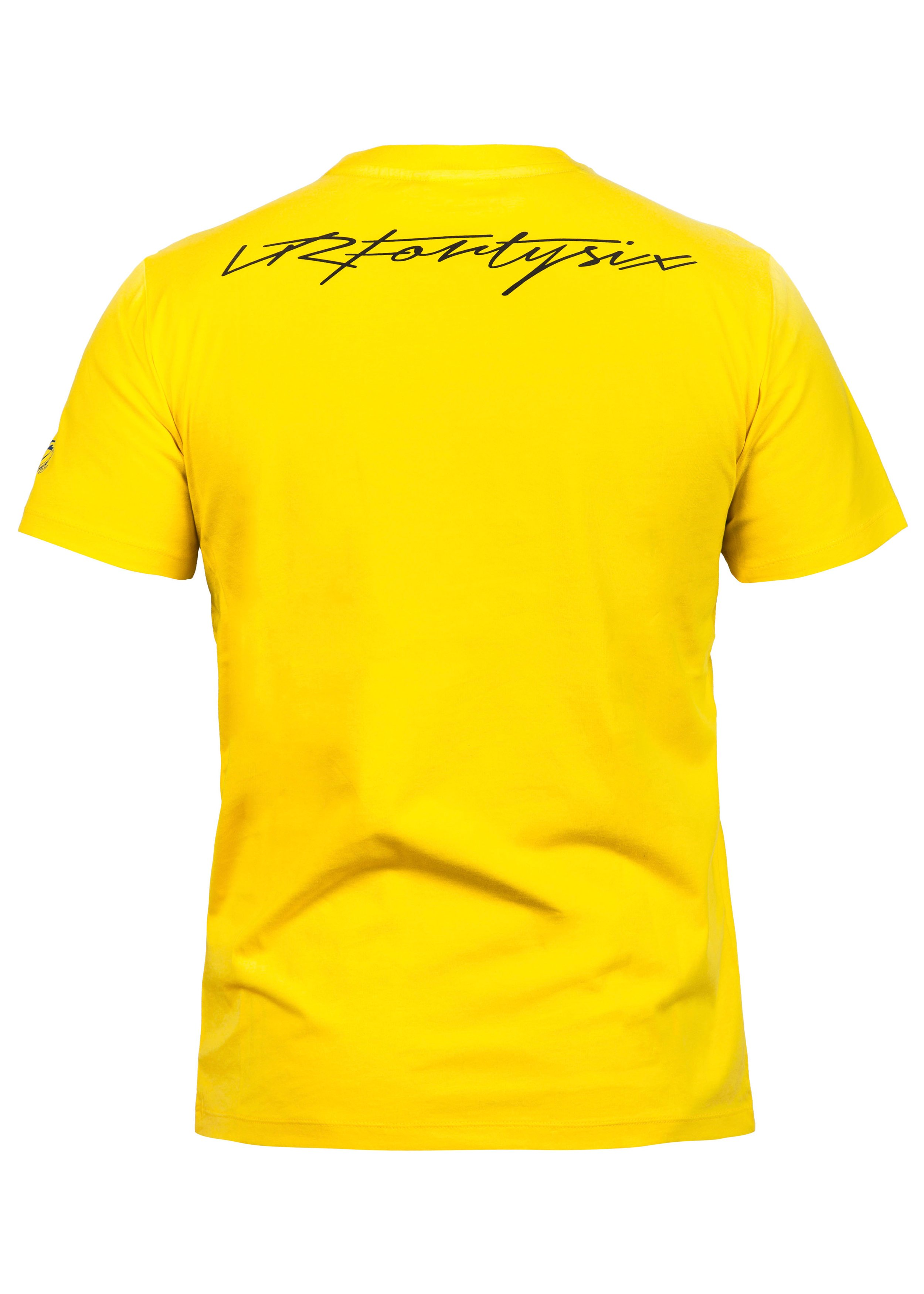 vr 46 valentino rossi yellow herren t shirt vr204201. Black Bedroom Furniture Sets. Home Design Ideas