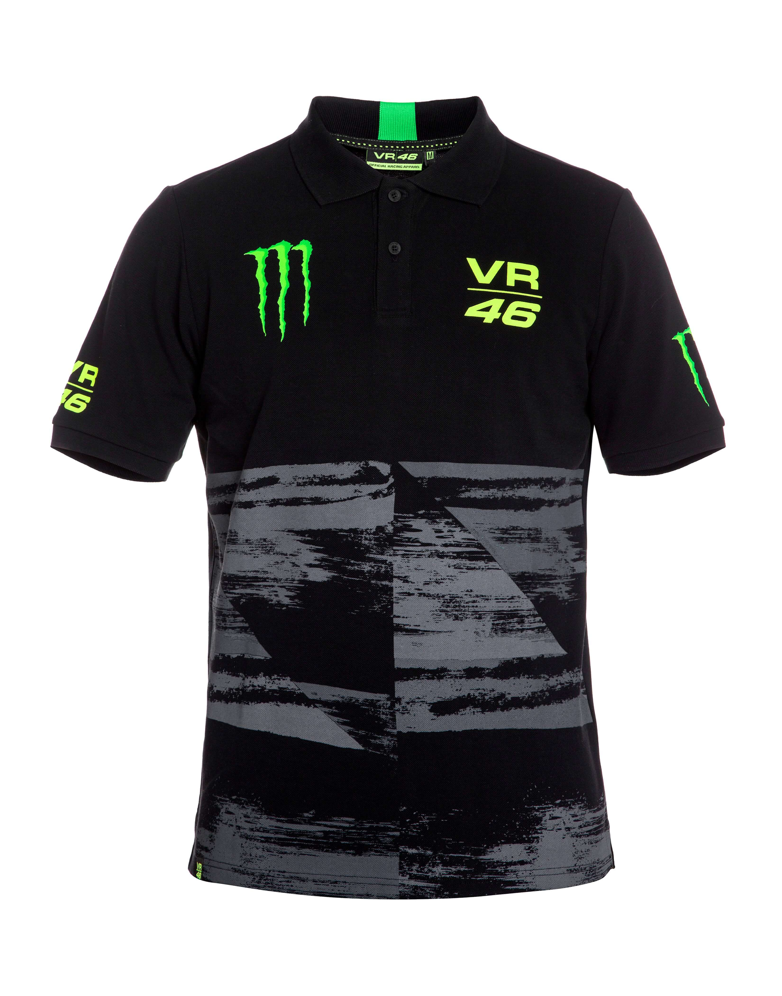vr 46 valentino rossi monster herren polo shirt. Black Bedroom Furniture Sets. Home Design Ideas
