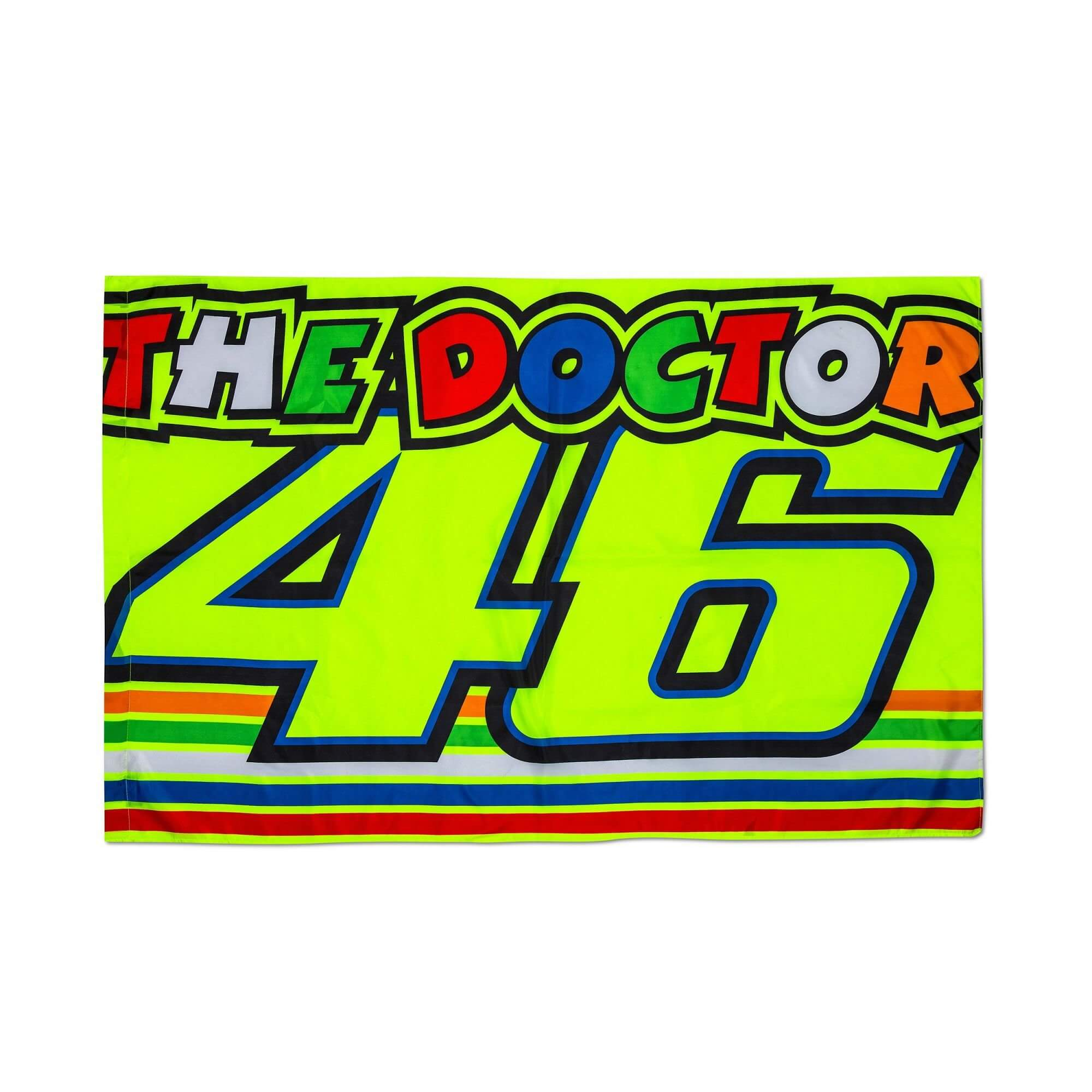 vr 46 valentino rossi stripes fan flagge vr310703. Black Bedroom Furniture Sets. Home Design Ideas