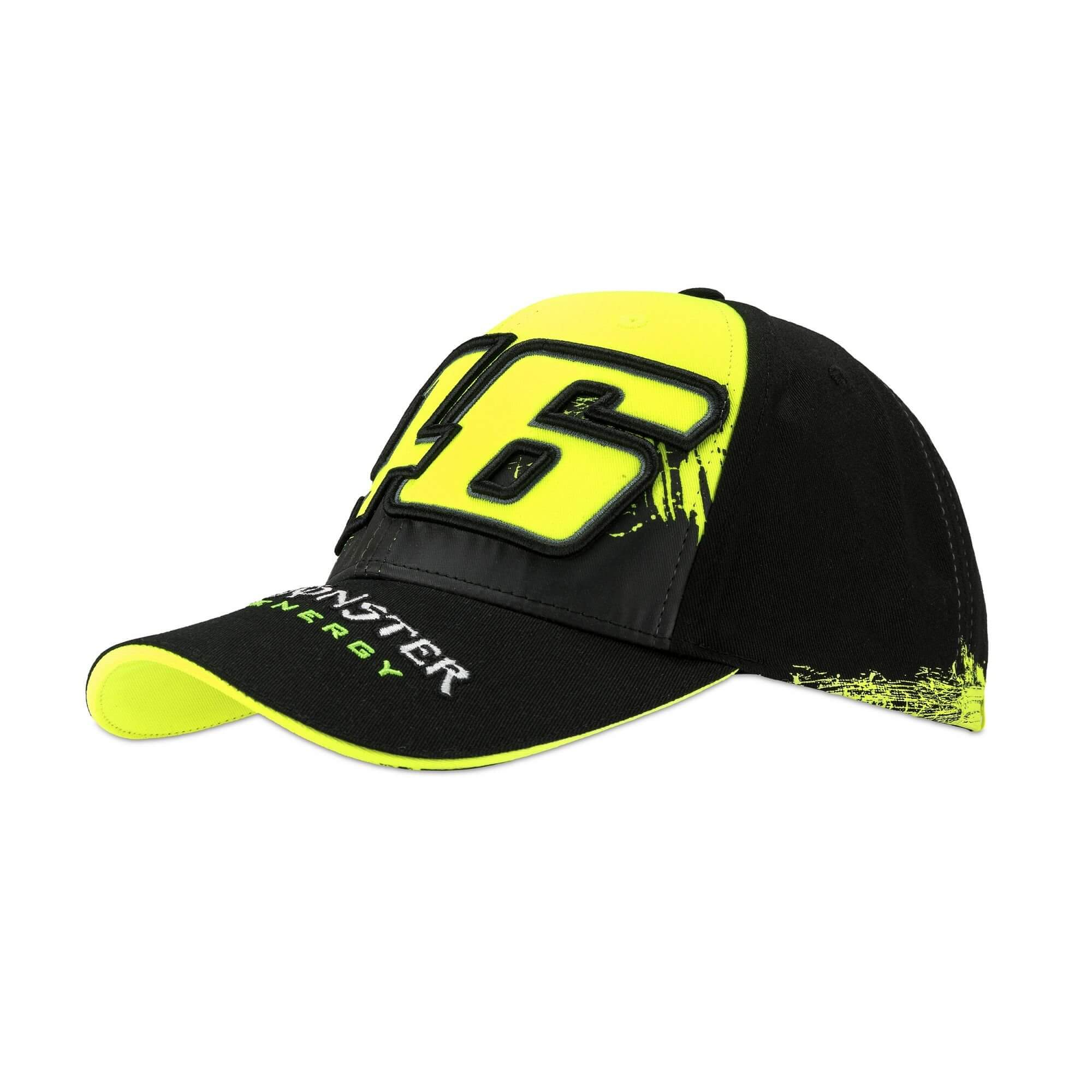 vr 46 valentino rossi monster energy baseball cap. Black Bedroom Furniture Sets. Home Design Ideas