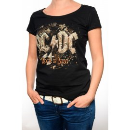 AC/DC Tour Damen T-Shirt Rock or Bust