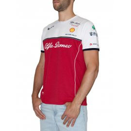 Alfa Romeo Racing - Herren Team T-Shirt - AFR-TS03