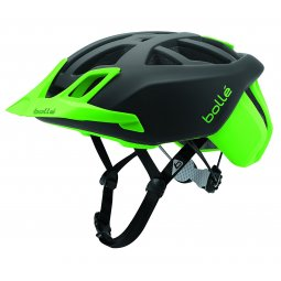 Bollé - The One MTB  - Mountainbike Helm -  LED-Licht - Schwarz/Neongrün