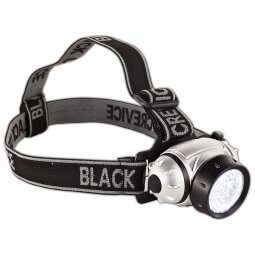 Black Crevice Stirnlampe 21 LED