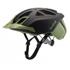 Bollé - The One MTB  - Mountainbike Helm -  LED-Licht - Schwarz/Khaki