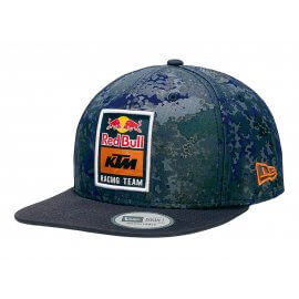 Red Bull KTM Racing - Team Camo Flat Brim Cap - New Era - 9Forty - KTM-131339