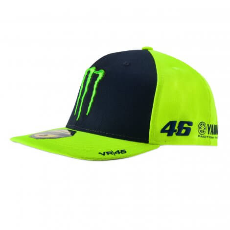 VR|46 Valentino Rossi - Monster Energy Flat Cap - Yamaha Factory Racing - VR344628