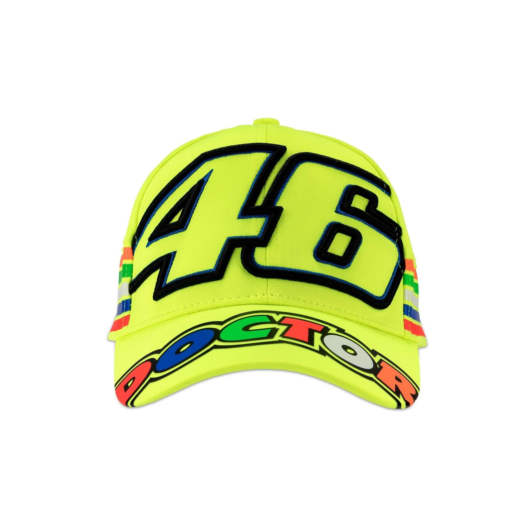 vr 46 valentino rossi stripes baseball cap vr305028. Black Bedroom Furniture Sets. Home Design Ideas
