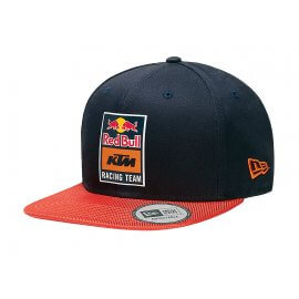 Red Bull KTM Racing - Team Crome Logo Flat Cap - New Era - 9Forty - KTM-131336