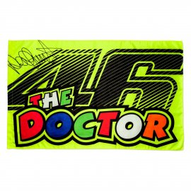 VR|46 Valentino Rossi 46 THE DOCTOR Fan Flagge