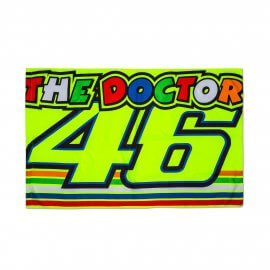 VR|46 Valentino Rossi Stripes THE DOCTOR Fan Flagge