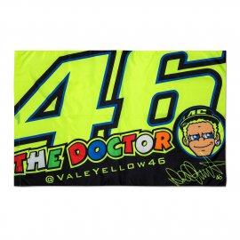 VR|46 Valentino Rossi THE DOCTOR Face Fan Flagge