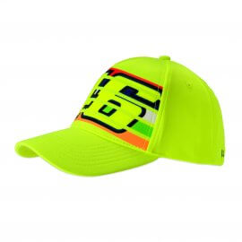 VR|46 Valentino Rossi - 46 Stripes - Baseball Cap - Yellow - VR350228