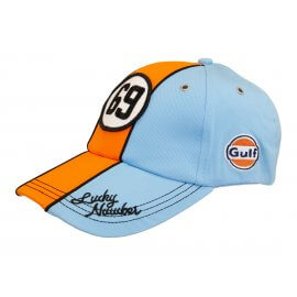 Gulf - Vintage Cap - Lucky Number 69