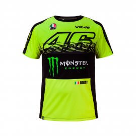 Valentino Rossi VR46 Monster Energy T-Shirt - VR274428